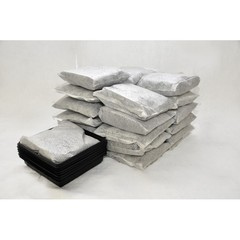 "Buy Spilfyter 10"" x 10"" Oil-Only Standard White Pillow-In-A-Pan Kit 12 Pan & 24 Pillow/Box on sale online"