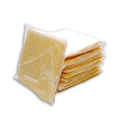 "Spilfyter 12"" x 12"" Hazmat 1-Ply Light-Duty Lab&Cleanroom Yellow Absorbent Pad 50/Box"