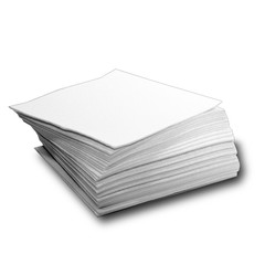 "Spilfyter 12"" x 12"" Hazmat Light-Duty Extra Low Lint White Absorbent Pad 50/Box"