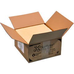 "Spilfyter 12"" x 12"" Premium Yellow SM Hazmat LW Absorbent Pad 100/Box"