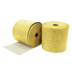"Buy Spilfyter 16"" x 150 ft Hazmat Premium Yellow Perfed Absorbent Roll 2/Bag on sale online"