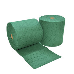 "Buy Spilfyter 16"" x 150 ft Premium Green HW Universal Absorbent Roll 2/Bag on sale online"