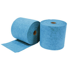 "Buy Spilfyter 16"" x 150 ft Premium Oil-Only Blue HW Perfed Absorbent Roll 2/Box on sale online"