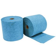 "Buy Spilfyter 16"" x 150 ft Premium Oil-Only Blue MW Perfed Absorbent Roll 2/Box on sale online"