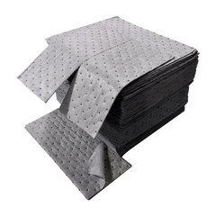"Buy Spilfyter 16"" x 18"" Spilhyder Gray MW Universal Absorbent Pad 100/Box on sale online"