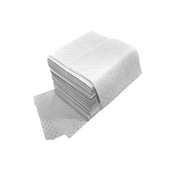 "Buy Spilfyter 16"" x 18"" Spilhyder Oil-Only White SMS Absorbent Pad 100/Bag on sale online"