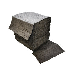 "Buy Spilfyter 16"" x 18"" Standard Gray LW Universal Absorbent Pad 200/Box on sale online"