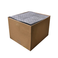 "Buy Spilfyter 16"" x 18"" Standard Gray MW Universal Absorbent Pad 24 gal/case 100/Box on sale online"