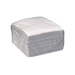 "Spilfyter 16"" x 18"" Streetfyter Oil-Only White Absorbent Pad 100/Bag"