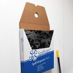 "Buy Spilfyter 16"" x 18"" Universal Camouflage Spill Response Absorbent Pack 25 Pads/Carton & 5 Cartons/Box on sale online"