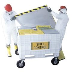Spilfyter 170 Gallon Hazmat Dispenser Cart Spill Kit