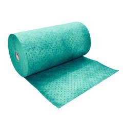 "Buy Spilfyter 24"" x 150 ft Universal Premium Green Perfed Absorbent Roll on sale online"