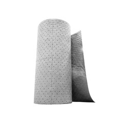 "Buy Spilfyter 32"" x 150 ft Gray Universal HW Dimpled Absorbent Roll on sale online"