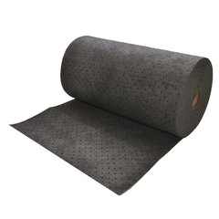 "Spilfyter 32"" x 150 ft Premium Gray HW Universal Absorbent Roll 1/Bag"