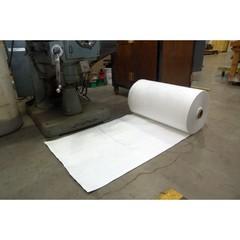 "Spilfyter 32"" x 150 ft Streetfyter Oil-Only White Absorbent Roll"