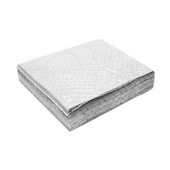 "Buy Spilfyter 32"" x 32"" Standard Oil-Only White HW Absorbent Pad 50/Bag on sale online"