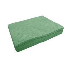 "Buy Spilfyter 32"" x 36"" Premium Green HW Universal Absorbent Pad 50/Bag on sale online"