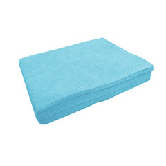 "Buy Spilfyter 32"" x 36"" Premium Oil-Only Blue HW Perfed Absorbent Pad 50/Box on sale online"