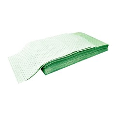 "Buy Spilfyter 32"" x 54"" Universal Light-Weight Green Absorbent Pad 20/Bag on sale online"