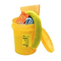 Spilfyter Grab & Go Hazmat Bucket Spill Kit