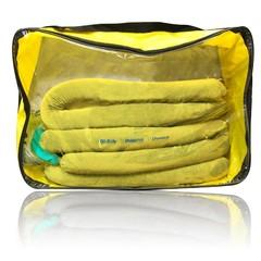 Spilfyter Grab & Go Hazmat Large Zipper Bag Spill Kit