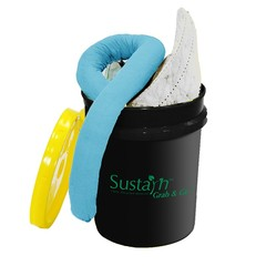 Buy Spilfyter Grab & Go Oil-Only Recycled Bucket Spill Kit on sale online