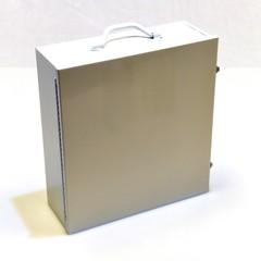 Spilfyter Hazmat Wall Metal Cabinet Spill Kit