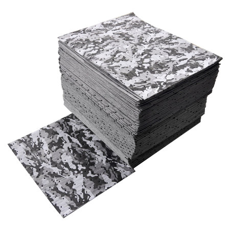 "Buy Spilfyter 16"" x 18"" Spilhyder Camo Universal Absorbent Pad 50/Box on sale online"