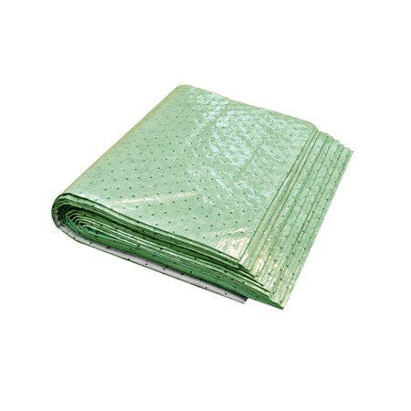 "Buy Spilfyter 32"" x 64"" Universal Light-Weight Green Absorbent Pad 20/Bag on sale online"