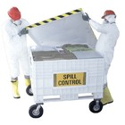 Spilfyter 170 Gallon Universal Dispenser Large Cart Spill Kit