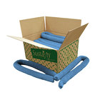 """Spilfyter 3"""" x 4 ft 100% Sustayn Recycled Oil-Only Blue Absorbent Sock 15/Box"""