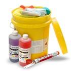 Spilfyter Grab & Go Liquid Acid and Base/Alkaline Neutralizer Bucket Spill Kit