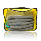 Spilfyter Grab & Go Universal Large Zipper Bag Absorbent Spill Kit