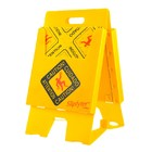 Spilfyter Universal Absorbent Caution Stand Kit